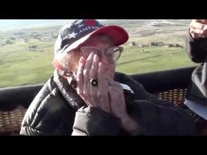 Video: Dorothy Custer's Balloon Ride