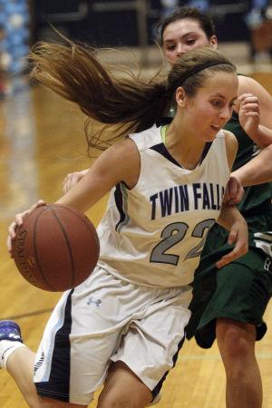 Gallery: Burley at Twin Falls Girls Basketball