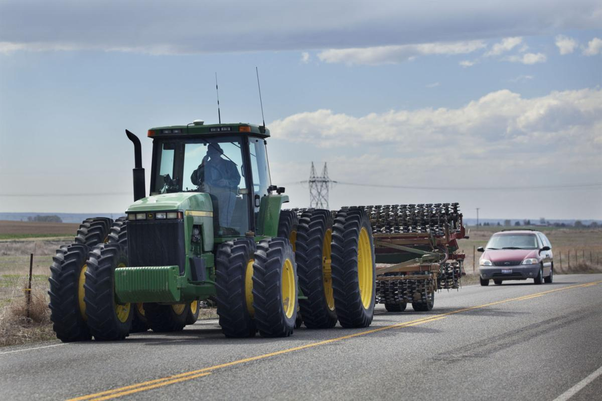 Over The Road Tractors : Beware of farm equipment on roads southern idaho local