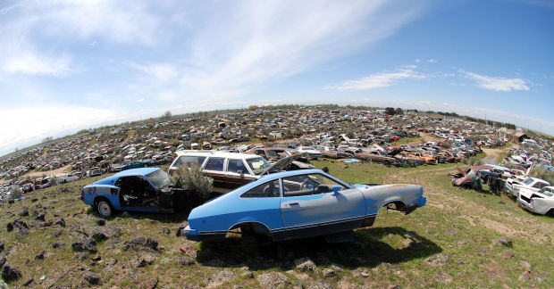 legendary wendell car salvage yard for sale after 47 years. Black Bedroom Furniture Sets. Home Design Ideas