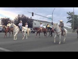 Video: Mounted Riders in Jerome County Fair Parade