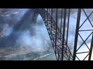 VIDEO: Fire in the Snake River Canyon