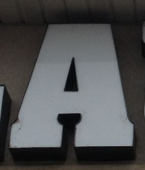 Alphabet Puzzler #2: What Twin Falls Sign Is This?