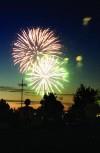 Fireworks in Twin Falls