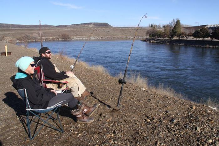 9 best spots for winter fishing in south central idaho for Cj strike fishing report