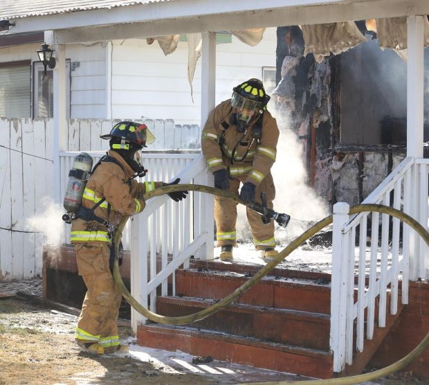 house destroyed in buhl fire