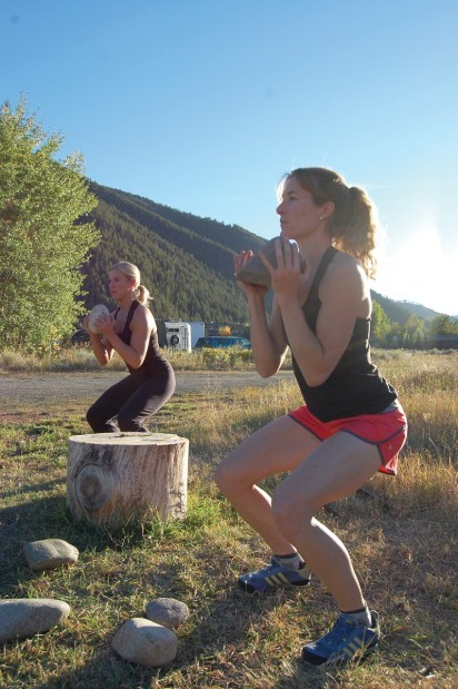 Building A Ghetto Workout Ketchum Athletes Use Construction Site Items To Vary Their