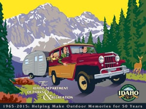 Gallery: Vintage Idaho Tourism Posters