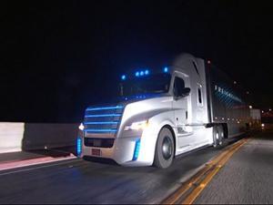 Video: Daimler Introduces Autonomous Truck