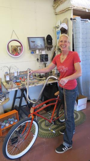 Hailey Woman 'Upcycles' Old Bike Parts Into Jewelry, Art