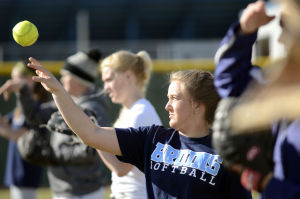 Gallery: Twin Falls High Softball Practice
