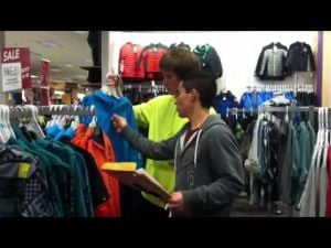 Video: Students Shop Til They Drop for Local Families