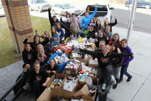 Hagerman School Canned Food Drive