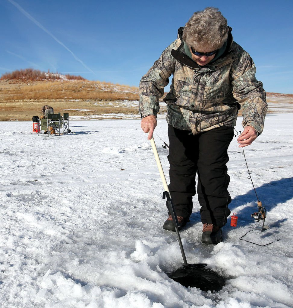 Your guide to idaho ice fishing outdoors and recreation for Idaho ice fishing report