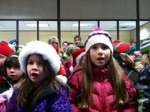 Gallery: Little Christmas Carolers Visit Times-News