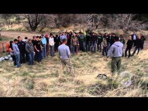 Video: Ag Students Plant Mule Deer Habitat