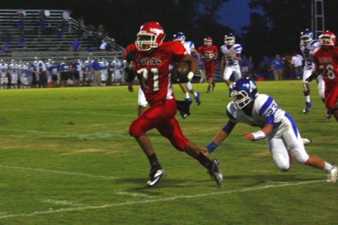 with six photos magnolia panthers win first football