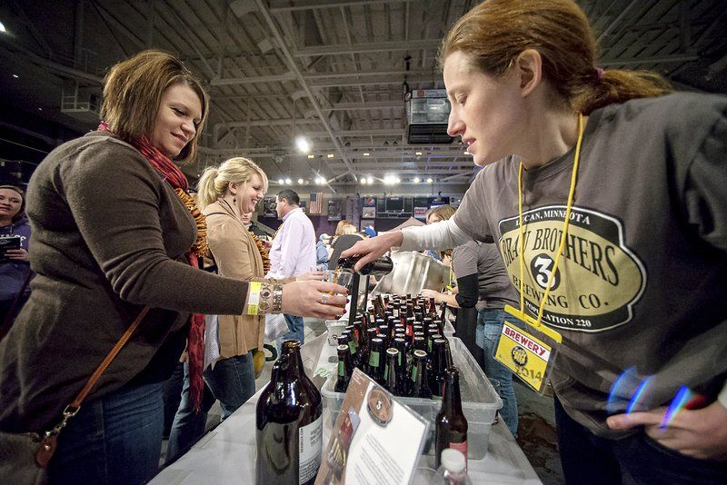 Mmmm beeeeeeer mankato craft beer expo chugs into third for Mankato craft beer expo
