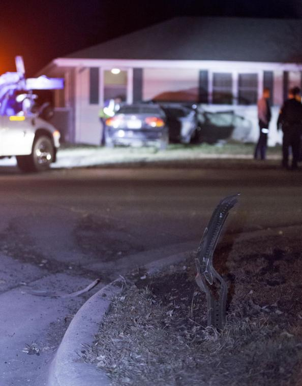 Car hits house main street and pfau 2 for House hits 88