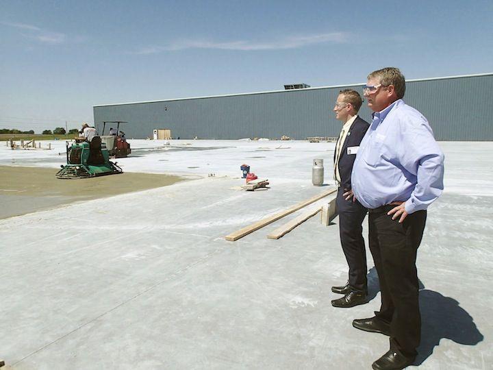 Construction begins at kawasaki business maryville for Kawasaki motors maryville mo