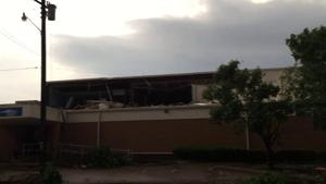 First Baptist Church damaged by tornado