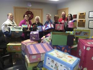 Offenders at Mable Bassett Correctional Center create, donate gift boxes for foster children
