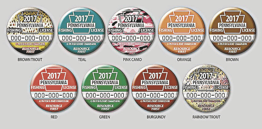 Voting underway for 2017 state fishing license button for Pa fish for free days 2017