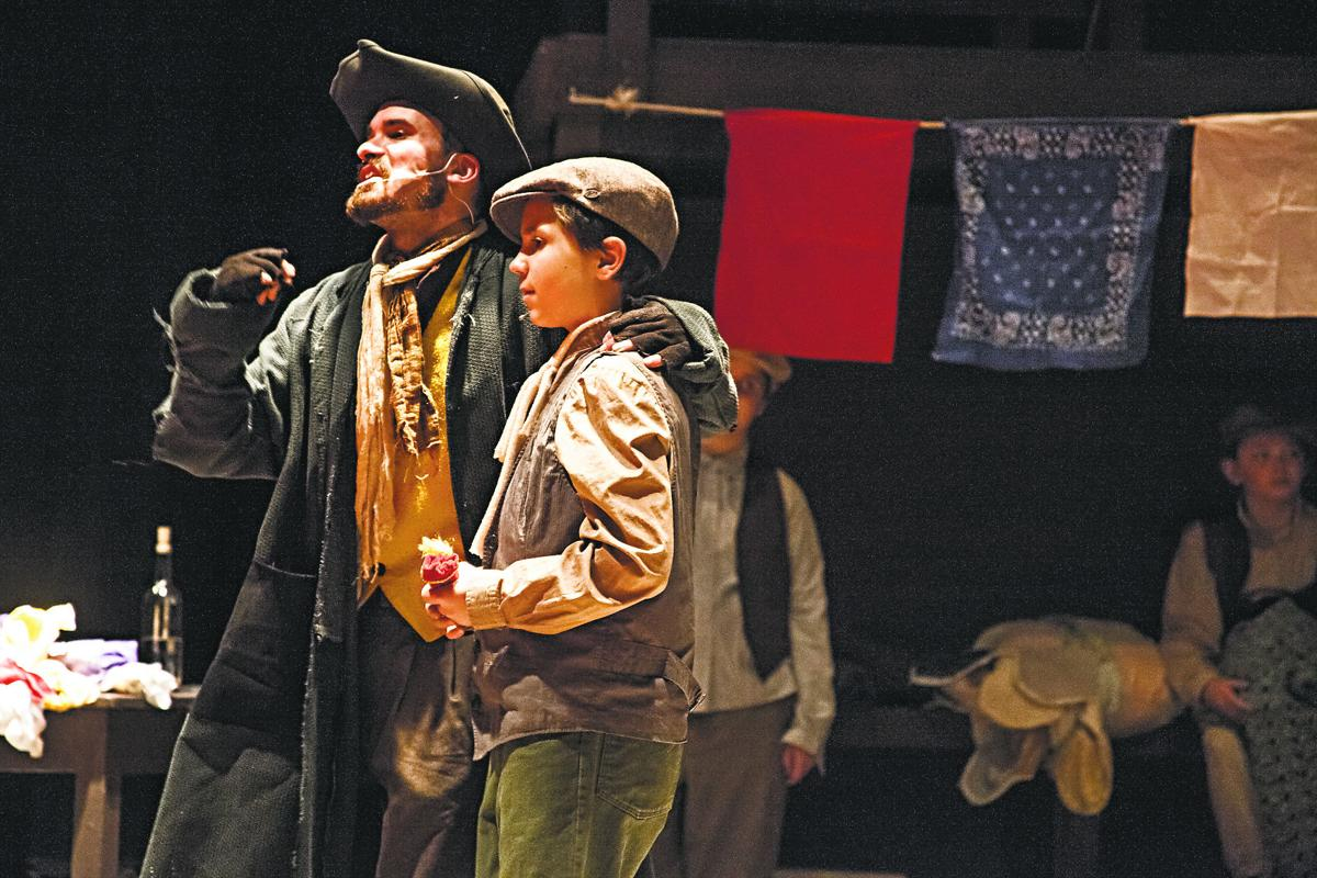 oliver heads to french creek community theatre this weekend only fagin and oliver twist