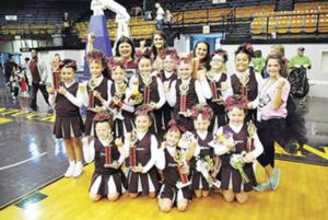 Youth Cheer Squad takes first place