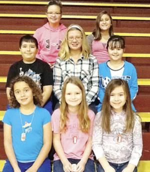 Calhoun students receive Character of the Month