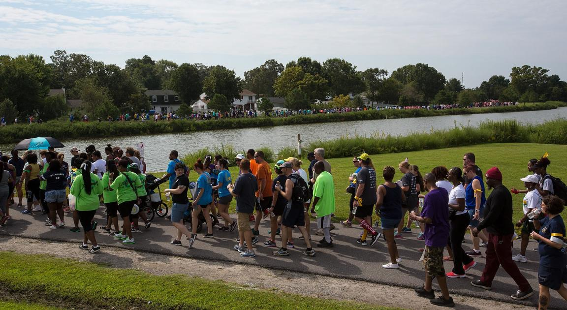 Lincoln Sailors Support 11th Annual Out Of The Darkness