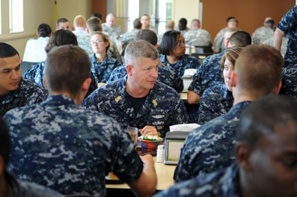 MCPON Rick D. West visits master-at-arms 'A' school | Top Stories ...