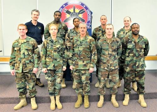 EOD Training, Evaluation Unit 2 earns Alfred P. Sloan Award ...