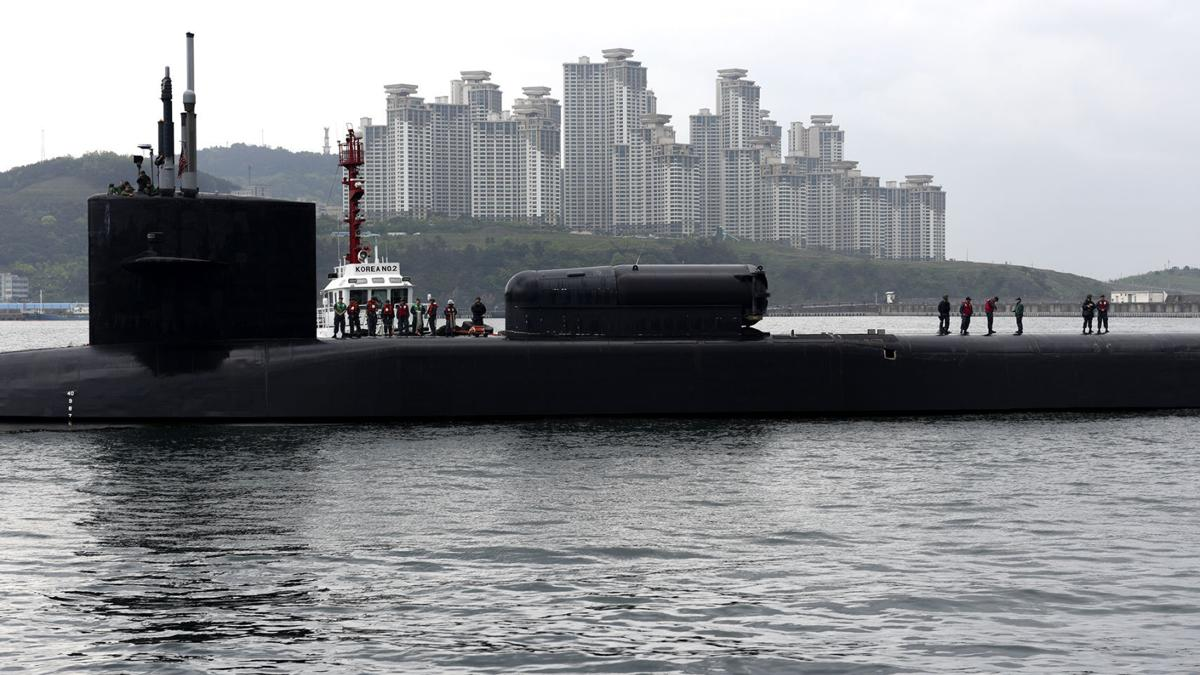 USS Michigan visits Busan, strengthens partnership with ROK navy