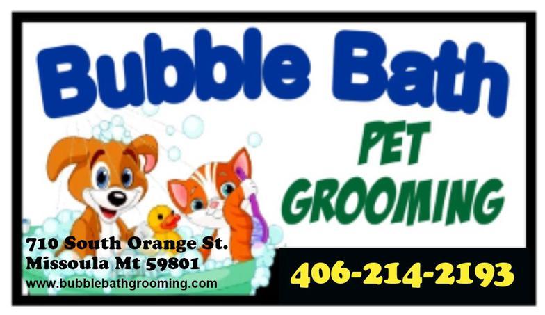 Bubble Bath Pet Grooming