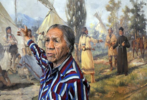 Edgar S. Paxson's murals romanticize, preserve history