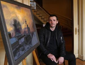 Haunting inevitability: Mine disaster painting depicts reality
