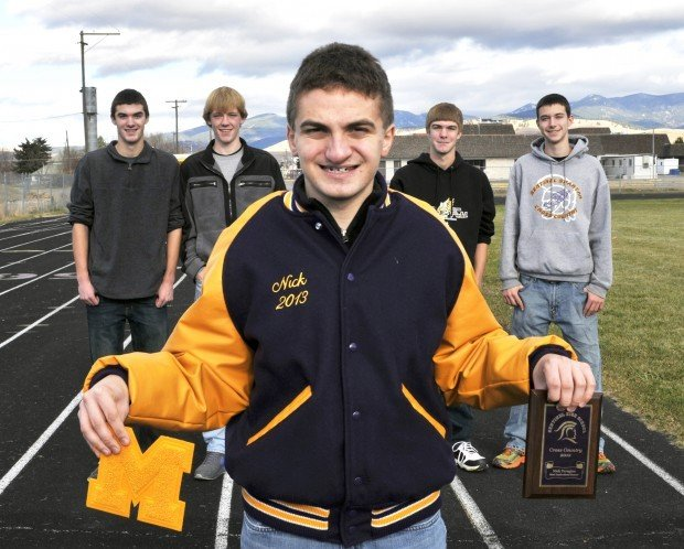 Sentinel high cross country team surprises senior with letterman jacket 39most inspirational for Cross country awards ideas