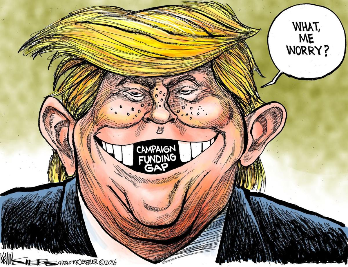 Mad Political Cartoon >> Donald Trump: Cruel editorial cartoon a new low | Letters to the Editor | missoulian.com
