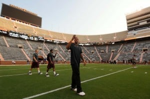 Griz players awed by Tennessee's 102,000-seat Neyland Stadium
