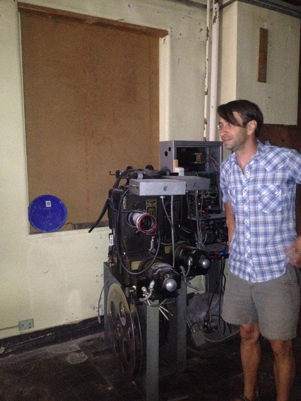 Project projector: Roxy welcomes new equipment