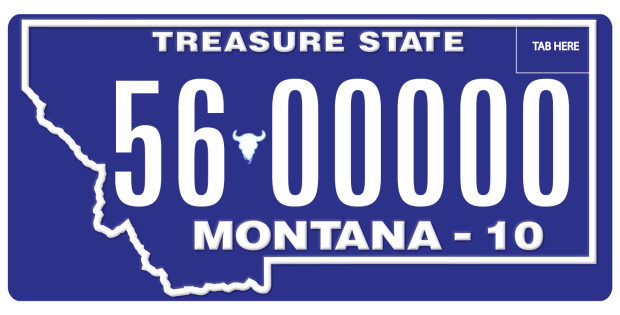Find License Plate Owner >> Montana license plate numbers