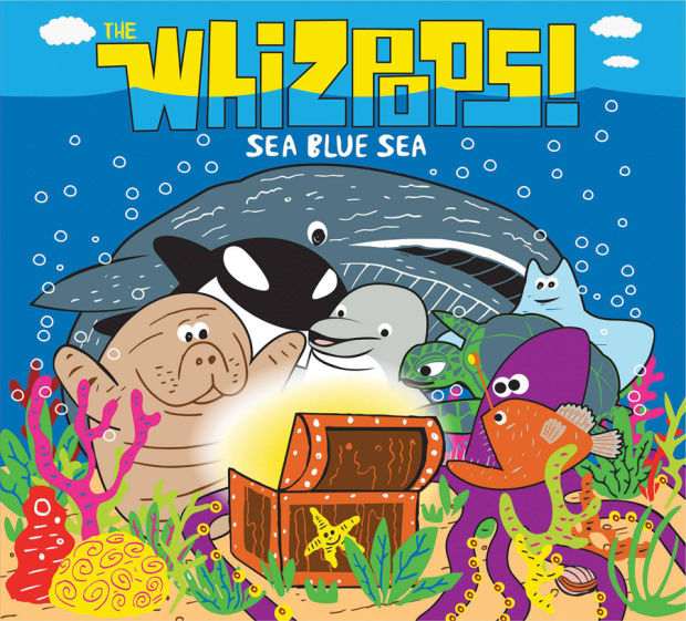 Whizpops' oceanic adventure; CD release party on Friday