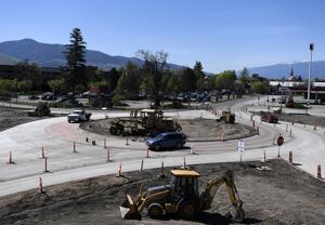 Storm delays Orange Street roundabout construction