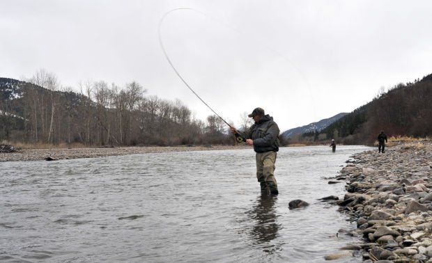 International fly fishing champion leads spey casting for Chicago fly fishing