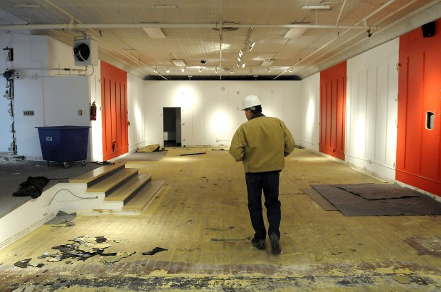 Interior Demolition Work Begins At Missoula Merc Building