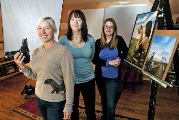 Photographer's calendar work pairs Missoula Rollergirls, local artists