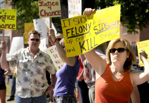 Prosecutor meets with protesters over charges in Mullan pedestrian death