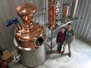 The next logical step: Florence couple prepares to start apple distillery at apple cidery