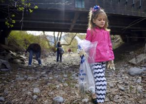 Hundreds clean Clark Fork on Earth Day
